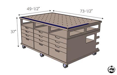 ultimate workstation workbench plans diy woodworking
