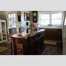 Kitchen Remodel; Convert A Dresser Into A Kitchen Island