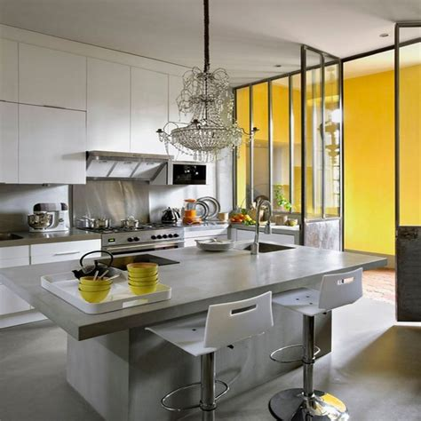 cuisine en beton beaufiful cuisine en béton ciré images gallery gt gt cuisine