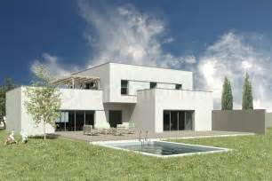 maison vitr 233 plan de maison moderne par archionline