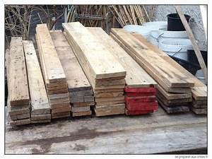 Ce que vous ne pouvez pas construire avec des palettes for Meuble en planche de coffrage 3 construire une table de jardin en bois de palette sur