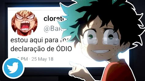 Se Os Personagens De Boku No Hero Tivessem Twitter