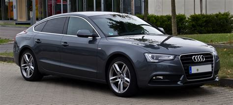 Audi A5 Picture by Datei Audi A5 Sportback 2 0 Tdi S Line Facelift