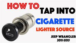 Cigarette Lighter Power Source Jeep Wrangler 2011