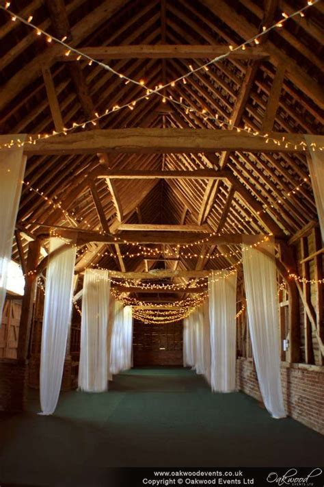 fairy light crossed strands at north hidden farm when i