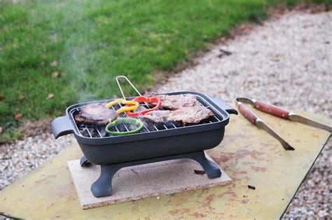 poisson facile à cuisiner barbecue de table en fonte tom press