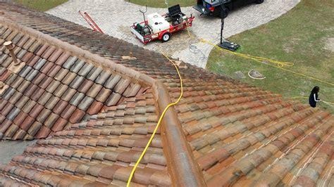 eustis fl roof cleaning barrel tile roof 3lm roof