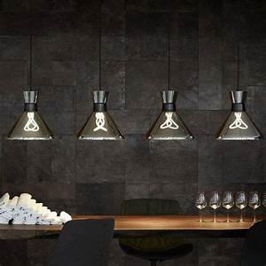 Suspension Luminaire Cuisine : luminaires en suspension le blog sagne cuisines ~ Teatrodelosmanantiales.com Idées de Décoration