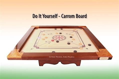 Carrom Board, Building An Indian Game