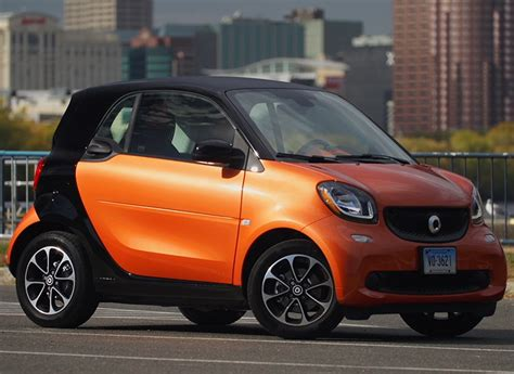 2016 Smart Fortwo Loses Its Training Wheels  Consumer Reports