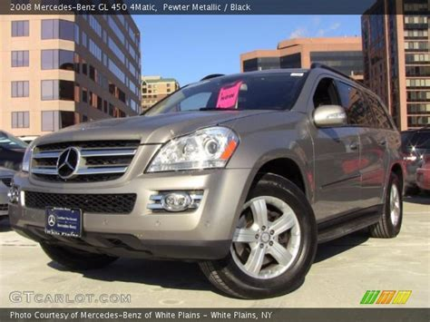 Finished in black over black leather. Pewter Metallic - 2008 Mercedes-Benz GL 450 4Matic - Black ...
