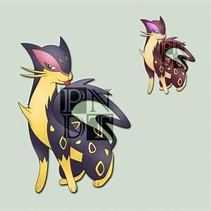 Pokemon Liepard Evolution Images | Pokemon Images