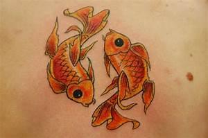 Goldfish Tattoo by Jordan Cain: TattooNOW