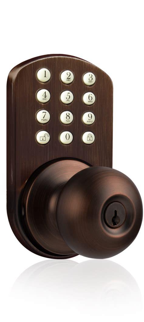 keypad door knob milocks tkk 02 keyless entry knob door lock with