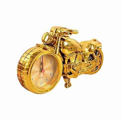 Alarm Clock Unique Quartz Motorcycle Lovers Luxury