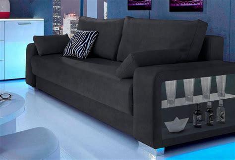 Sitzmöbel In Einem Raum by Inosign Schlafsofa 3 Sitzer Wahlweise Mit Beleuchtung