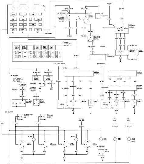 Cj5 Turn Signal Wiring Schematic by Cj Turn Signal Switch And Ignition Jeepforum