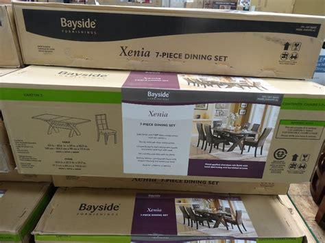 xenia  piece dining set