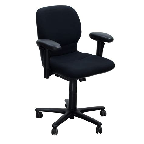 chaise steelcase steelcase sensor used task chair black national office