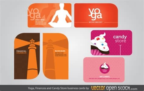 Yoga, Finances And Candy Store Business Cards Visiting Card Online Editor Office Depot Business Login Credit In My Name Cards Nelson Nz Normal Size For Template Free Templates And Designs Coupon Code