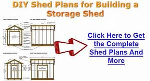 10x16 Timber Shed Diagrams