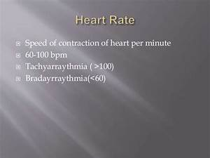 Heart Rate  Pulse Rate