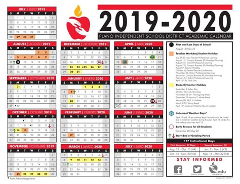 pisd approves calendar plano star courier