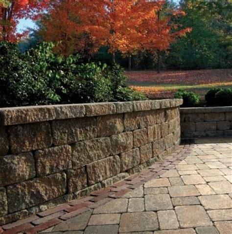 estate wall walls verticals pavers retaining walls