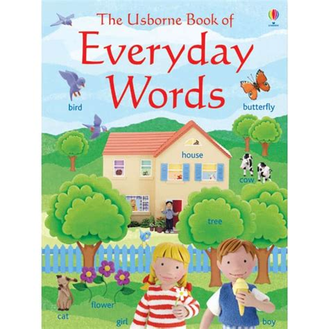 the usborne everyday words sticker book in