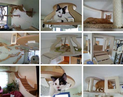 cat tree condo with hammock 3d cat furniture set modular hangouts for walls