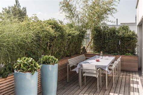 dachterrasse gestaltung beispiele terrassengestaltung arnold gartenbau