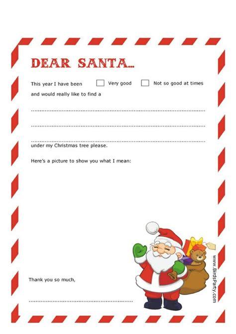 printable santa letterhead christmas printables