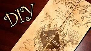 Harry Potter Marauder's Map  DIY