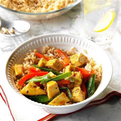 Diabetic recipe diabetes friendly stir fry pork with rice 10 minute beef stir fry, ingredients: Curry Turkey Stir-Fry   Recipe   Turkey stir fry, Diabetic friendly dinner recipes, Recipes