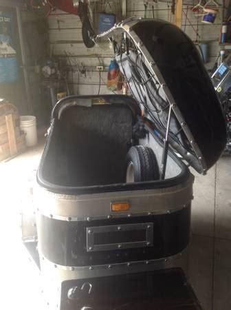 custom  pull  pony motorcycle trailer