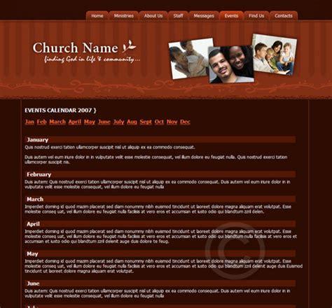 church template theme changer church web template