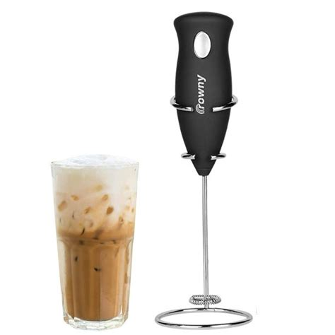 A wide variety of mini coffee whisk options are available to you, such as color, material, and feature. GLiving High Powered Milk Frother Handheld Foam Maker for Lattes-Electric Whisk Drink Mixer for ...