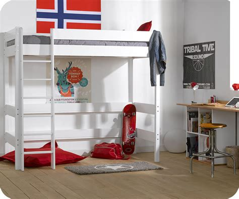 faire une housse de canapé lit mezzanine enfant clay blanc achat vente mobilier bois massif