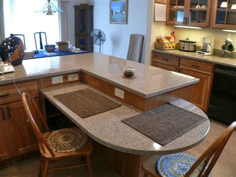 seating peninsula kitchen remodel  prairie construction