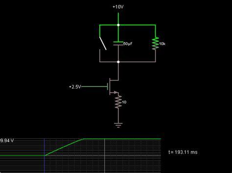 Current Ramp Circuit Simulator