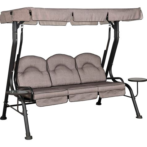courtyard creations patio furniture replacement cushions courtyard creations deluxe 3 seat swing hammocks