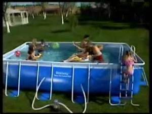 Frame Pool 366 : piscina rettangolare bestway steel pro frame pool 1 youtube ~ Eleganceandgraceweddings.com Haus und Dekorationen
