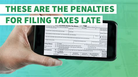 penalties  filing taxes late gobankingrates