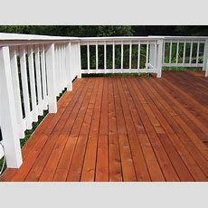 Deck Refinishing #101
