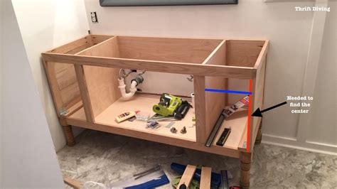how to build cabinet drawers how to build a bathroom vanity home design