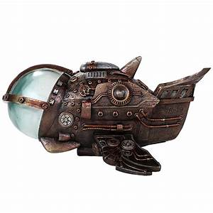 Steampunk Submarine with LED Lights Steampunk Submarine ...