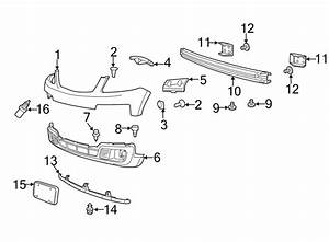 Mazda Tribute Bumper Cover Bracket  Outer  Left  Front