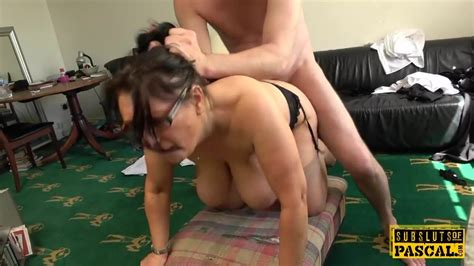 Busty British Milf Roughly Fucked Doggystyle Free Porn 23