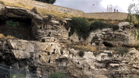 golgotha  place  calvary stock footage video