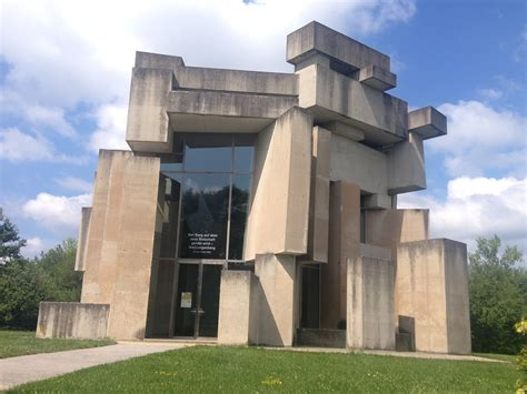 Cubist Brutalism Wotruba Church Vienna 8late